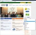 Acesso à nova Homepage da Biomedicina pela página da UNIRIO