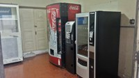 Máquinas de Refrigerante, Café e Biscoitos transferidas para localização permanente