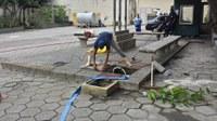Iniciada limpeza de reservatórios de água do IB