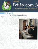 Jornal dos Alunos da Escola de Nutrição destaca favoravelmente as mudanças no IB