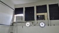 Recuperada emergencialmente a refrigeração no Biotério (sala A-510)