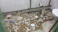 Reparado vazamento no Banheiro A-704