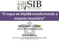 Seminários do IB debate o toque de MyD88 e a resposta imunitária