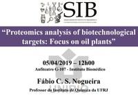 SIB discute análise proteômica de alvos biotecnológicos