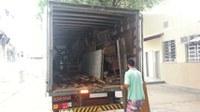 Concluída a retirada de inservíveis do IB com a saída do 5o caminhão de materiais