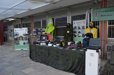 1º Colóquio de Saúde em Emergências e Desastres da UNIRIO (foto: Divulgação Comso)
