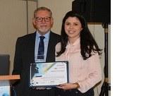 Aluna do PPGAN recebe prêmio em Congresso Nacional na área da Nutrição
