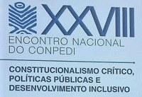 Alunos do PPGD participaram do XXVIII Encontro do CONPEDI