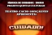 Apresentação Teatral será atração desta semana no Quintas Culturais