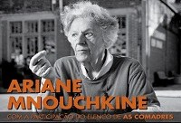 Diretora do grupo de teatro francês 'Théâtre du Soleil' profere Aula Inaugural da Escola de Teatro