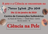 Ciência na pele: professores e estudantes da UNIRIO participam da Tattoo Week