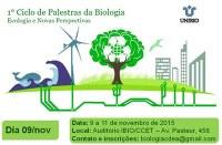 Começa hoje o 1º Ciclo de Palestra da Biologia: confira a programação