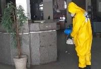 Concluído processo de desinfecção dos campi da UNIRIO