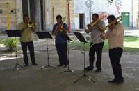 Coral de Trombones da UNIRIO inaugura 'Campus das Artes'