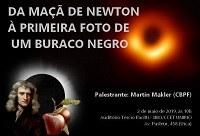 Cosmologia, relatividade e buracos negros são temas de palestra na quinta-feira, 2 de maio