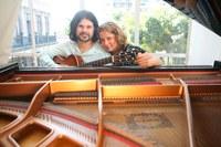Duo de piano e guitarra é atração da Série UNIRIO Musical
