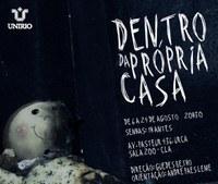 Espetáculo 'Dentro da própria casa' estreia no Centro de Letras e Artes