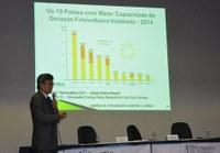 Fontes renováveis de energia na abertura da 13ª Semana de Integração Acadêmica