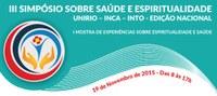 III  Simpósio sobre Saúde e Espiritualidade  acontece no dia 19 de novembro
