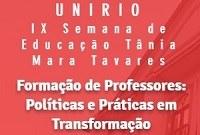 IX Semana de Educação da UNIRIO acontecerá em maio