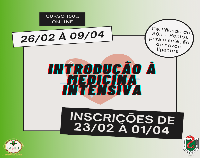 Liga de Medicina Intensiva promove curso on-line