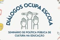 Mesa on-line debate linhas de pesquisa sobre políticas públicas de cultura na educação
