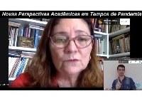 Mesa da UNIRIO no Congresso da Andifes discutiu ensino durante a pandemia