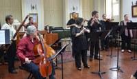 Orquestra Barroca da UNIRIO se apresenta na Reitoria