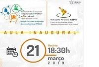 Curso de Mestrado e de Especialização em Segurança Alimentar e Nutricional da UNIRIO promovem Aula Inaugural nesta quinta, 21