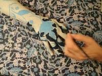 Projeto de extensão da UNIRIO realiza intervenções de pintura corporal