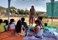 Projeto do Mestrado em Ecoturismo e Conservação participa de aniversário do Jardim Sulacap