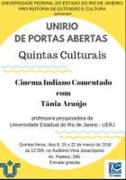 Projeto Quintas Culturais inicia temporada nesta semana