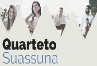 Quarteto Suassuna se apresenta na Série UNIRIO Musical