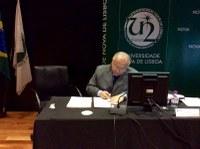 Reitor da UNIRIO celebra novas parcerias internacionais em encontro do Grupo Tordesillas