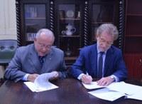 Reitor da Universidade de Bolonha visita UNIRIO para ampliação de cooperação internacional