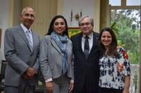 Reitor de universidade mexicana visita UNIRIO