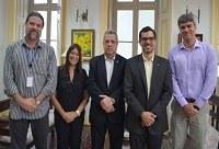 UNIRIO e Empresa de Pesquisa Agropecuária do Estado do Rio de Janeiro discutem iniciativas de cooperação