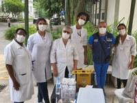 UNIRIO integra campanha de vacinação contra Covid-19