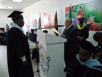 Universidade de Moçambique forma primeira turma em âmbito de convênio internacional com a UNIRIO
