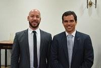 Vice-reitor da UNIRIO recebe prefeito de Teresópolis para discutir cooperação técnica