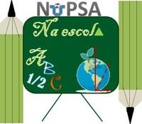 logotipo NuPSA na escola 2020