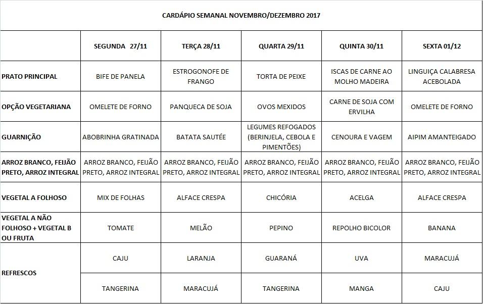 cardápio 27-11 a 01-12-17