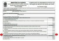PROGEPE informa que está disponível o Comprovante de Rendimentos para Imposto de Renda 2018