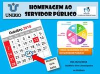 PROGEPE promove evento em homenagem ao Dia do Servidor