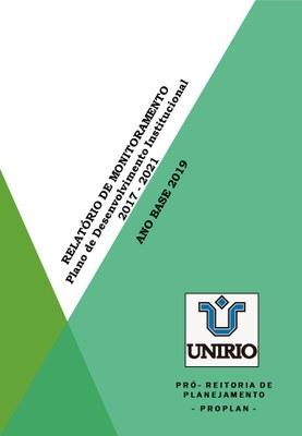 Capa do relatório PDI 2019