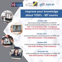 Resultado - Workshop Improve your knowledge about TOEFL - IBT exams