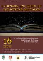 I Jornada das Redes de Bibliotecas Militares Integradas contará com a Docente da EB Jaqueline Barradas