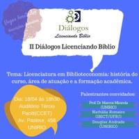 II Diálogos Licenciando Biblio acontece na UNIRIO