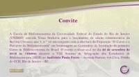 Lançamento da Revista Chronos e Abertura da exposição de 100 anos da Escola de Biblioteconomia da UNIRIO